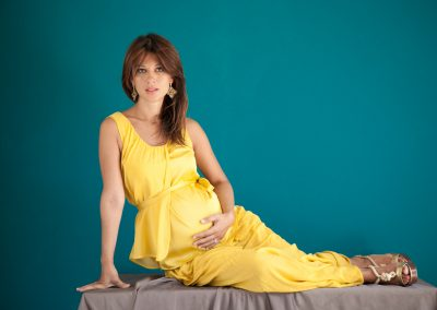 Maternity portrait Gessica, 8 months pregnant