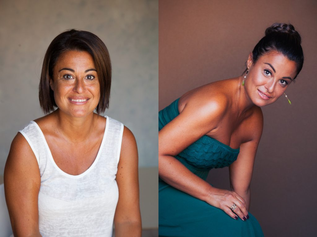 Before and after total make over photo shoot by Ami Elsius